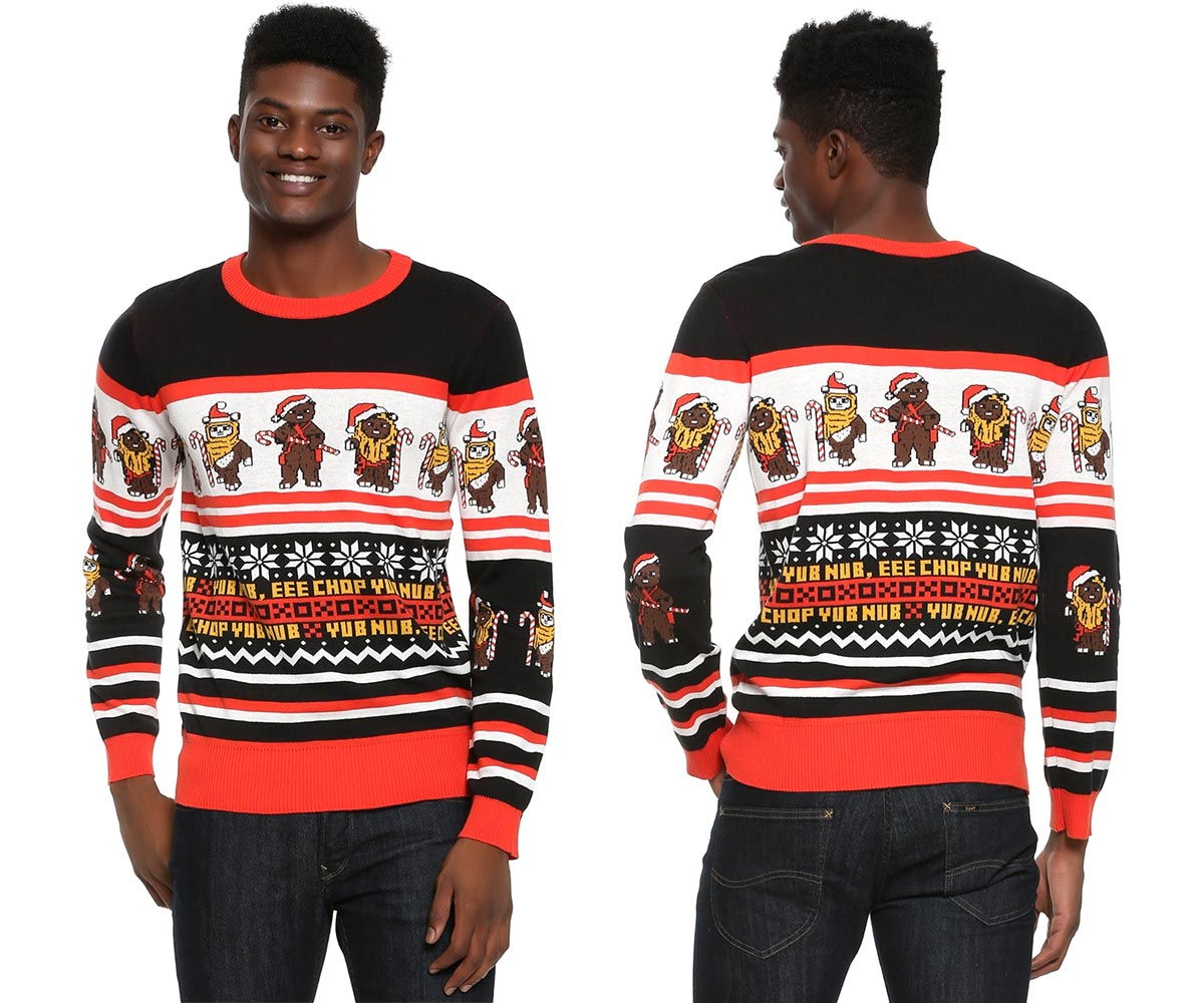 Star Wars Ewok Christmas Sweater