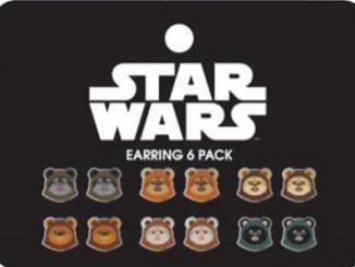 Star Wars Ewok Earrings 6-Pack