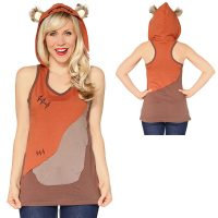 Star Wars Ewok Hooded Tank Top