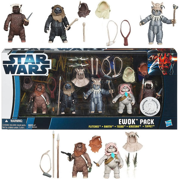 Star Wars Ewok Pack