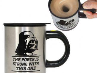 Star Wars Feel the Force Self-Stir Mug