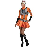 Star Wars Female XWing Fighter Costume