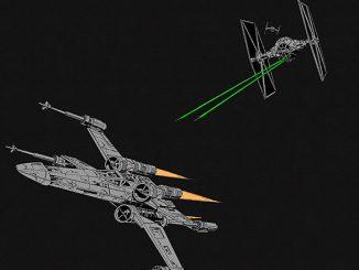 Star Wars Fighter Scene Shirt