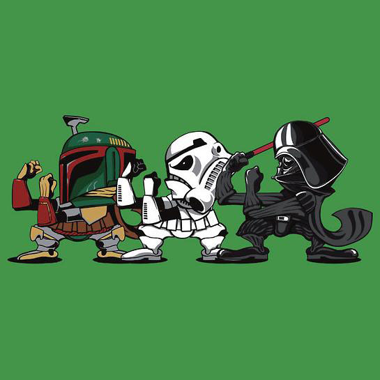 Star Wars Fighting Empire T-Shirt