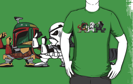 Star Wars Fighting Irish Themed T-Shirt