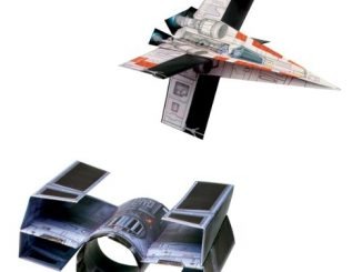 Star Wars Folded Flyers Paper Airplanes