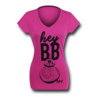 Star Wars Force Awakens Hey BB-8 Womens T-Shirt
