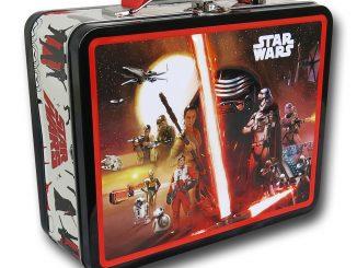 Star Wars Force Awakens Kylo Ren Poster Lunchbox