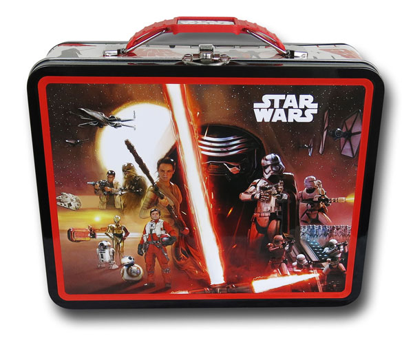 Star Wars Force Awakens Kylo Ren Poster Lunchbox
