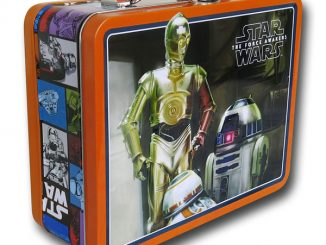 Star Wars Force Awakens R2-D2 and C3PO Lunchbox