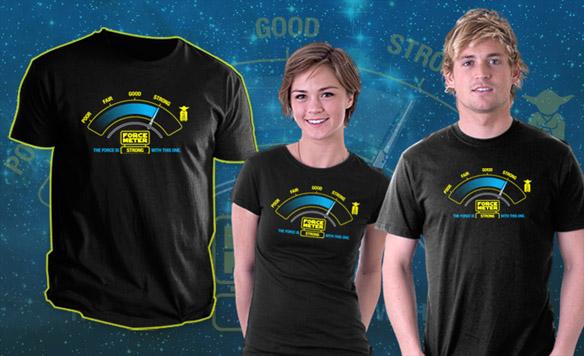 Star Wars Force-O-Meter Shirt