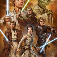Star Wars Force of Hope Art Print