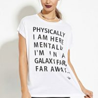 Star Wars Galaxy Far Away Graphic Shirt