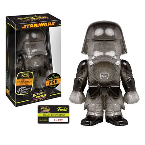 Star Wars Galaxy First Order Snowtrooper Hikari Sofubi Vinyl Figure