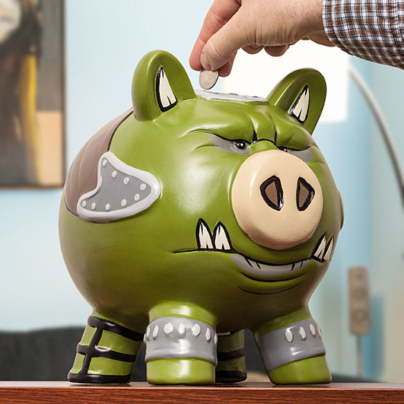 Star Wars Gamorrean Guard Piggy Bank