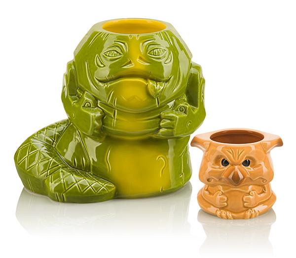 Star Wars Geeki Tikis - Jabba the Hutt & Salacious Crumb