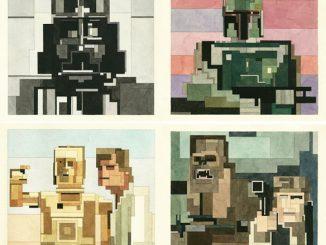 Star Wars Geometric Art Prints