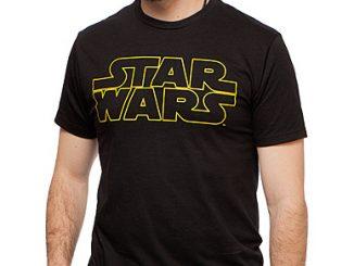 Star Wars Gold Logo Tee