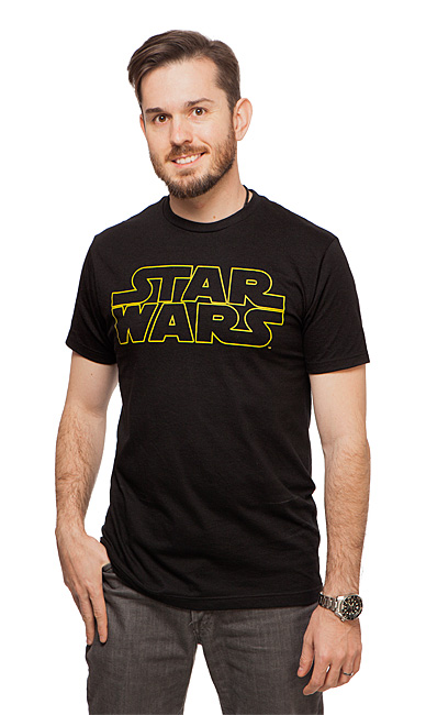 Star Wars Gold Logo Tee
