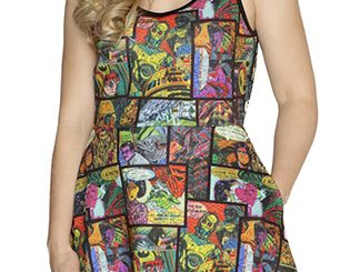 Star Wars Graffiti Comic Tank Dress