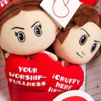 Star Wars Han Leia Plush Bouquet