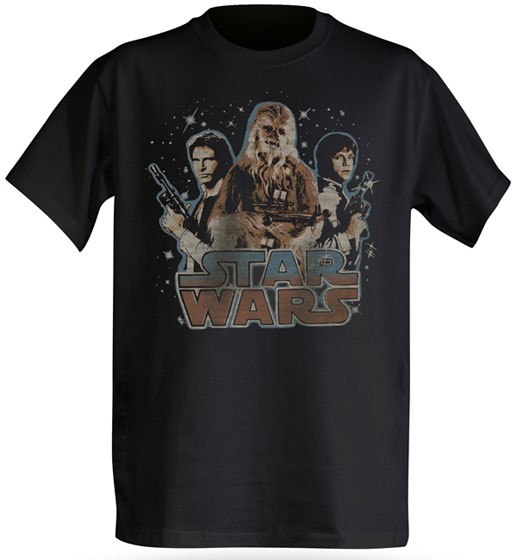 Star Wars Han, Luke and Chewbacca Good Guys T-Shirt