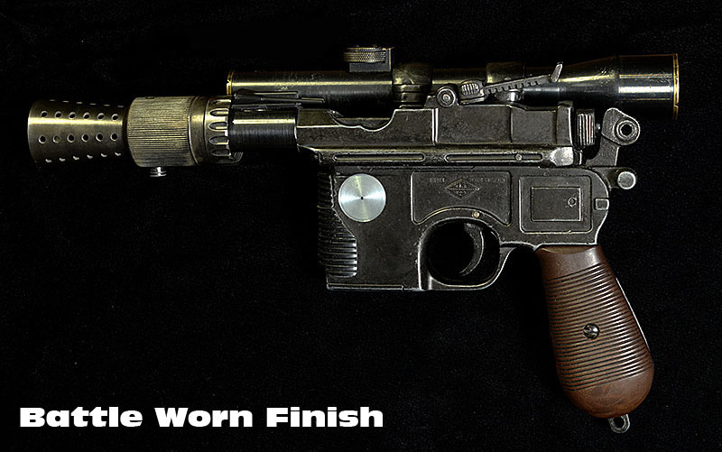 ARMSLIST - For Sale: DL 44 Han Solo Blaster (7.63 x 25mm)