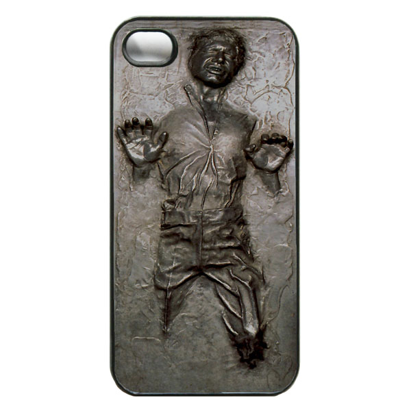 Star Wars Han Solo Carbonite iPhone Case