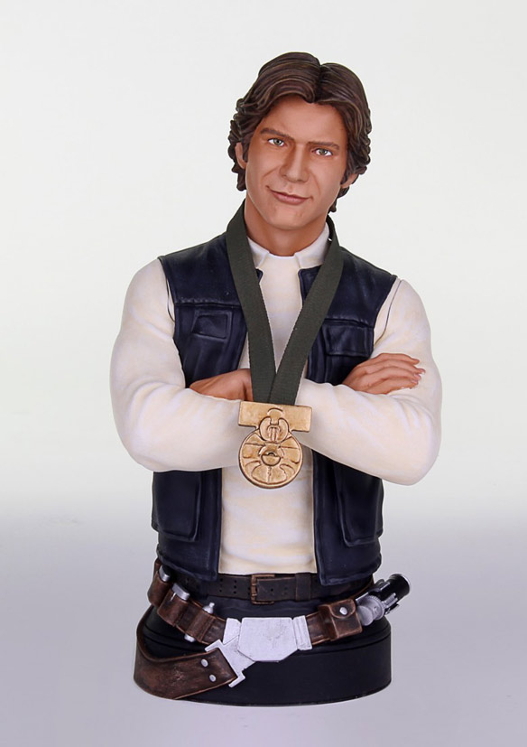 Star Wars Han Solo Hero of Yavin Mini-Bust