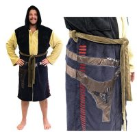 Star Wars Han Solo Hooded Fleece Bathrobe