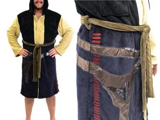 Star Wars Han Solo Hooded Fleece Bathrobe