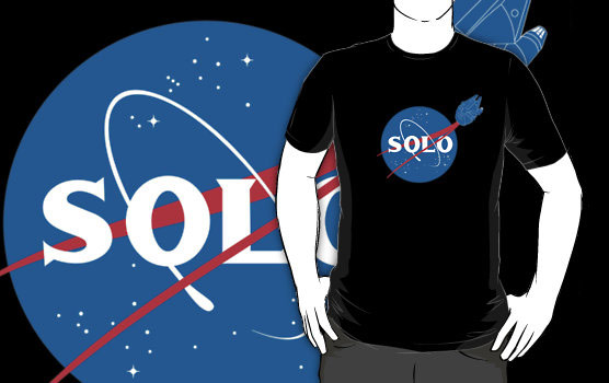 Star Wars Han Solo NASA T Shirt