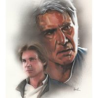 Star Wars Han Solo Original Painting