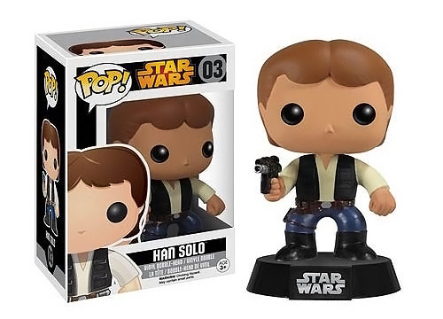 Star Wars Han Solo Pop Bobble Head