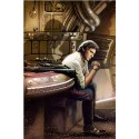 Star Wars Han Solo Redemption Paper Giclee Art Print