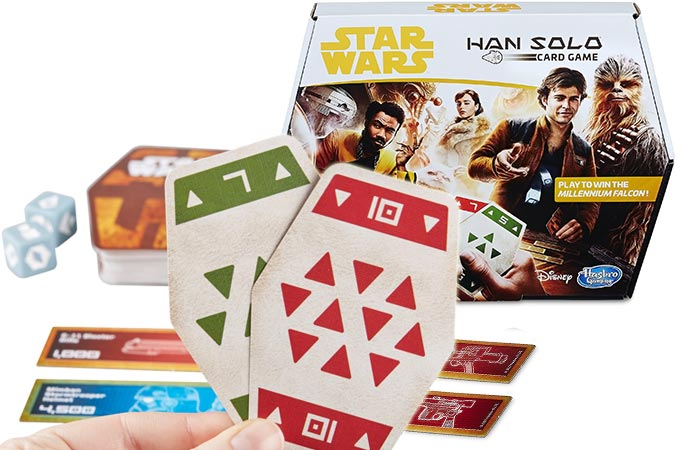 Star Wars Han Solo Sabacc Card Game