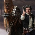 Star Wars Han Solo and Chewbacca Sixth-Scale Figures