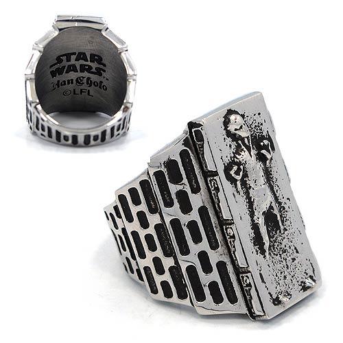 Star Wars Han Solo in Carbonite Ring