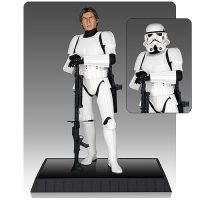 Star Wars Han Solo in Stormtrooper Armor Deluxe Statue
