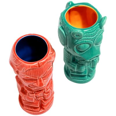 Star Wars Han Solo vs. Greedo Geeki Tiki Mugs