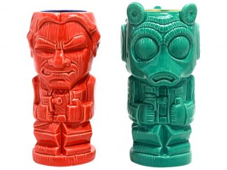 Star Wars Han Solo vs. Greedo Geeki Tikis Set