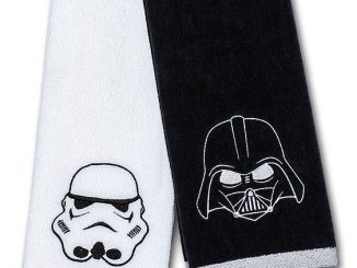 Star Wars Hand Towel Set - Darth Vader & Stormtrooper