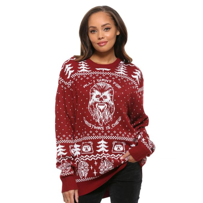 Star Wars Happy Life Day Ugly Holiday Sweater