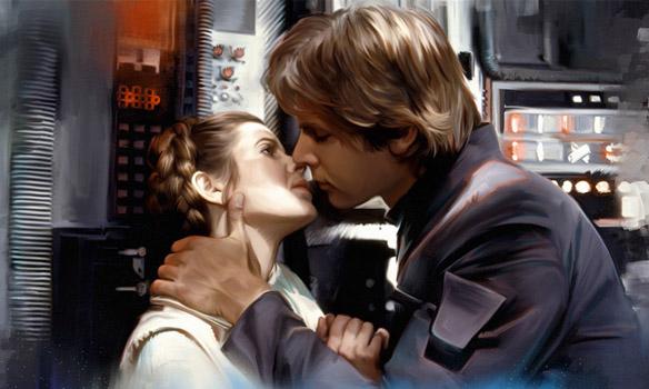 Star Wars He Knew Canvas Giclee Art Print