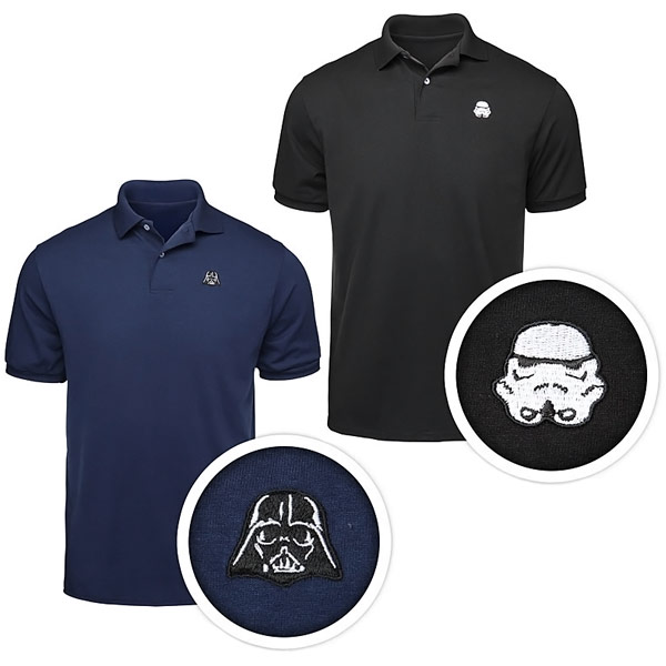 Star Wars Helmet Polo Shirts
