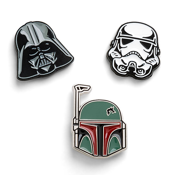 Star Wars Helmets 3-Pack Pin Set