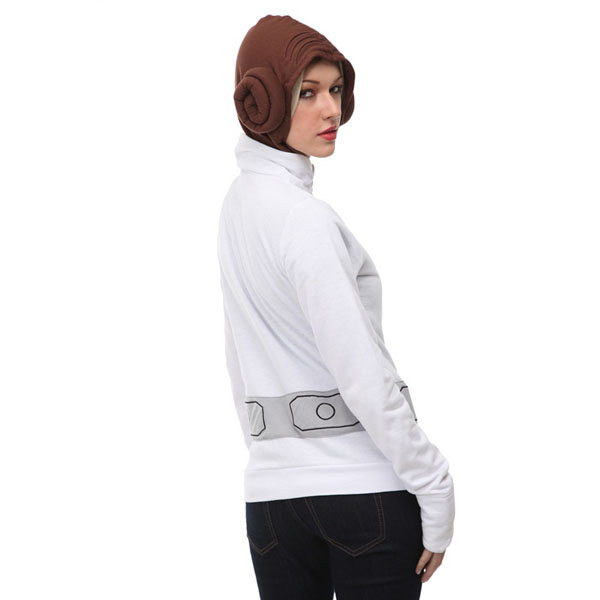 Star Wars Her Universe Princess Leia Girls Hoodie