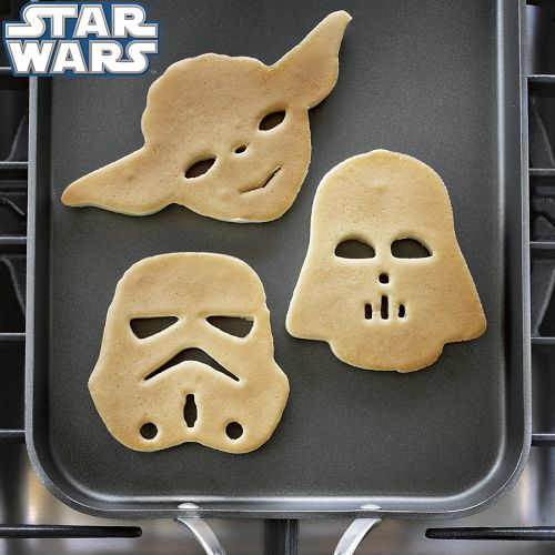 Star Wars Heroes & Villains Pancake Molds