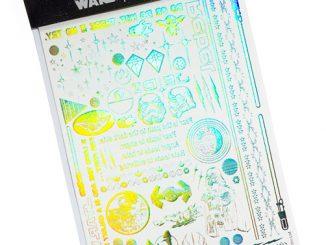 Star Wars Holographic Metallic Tattoos