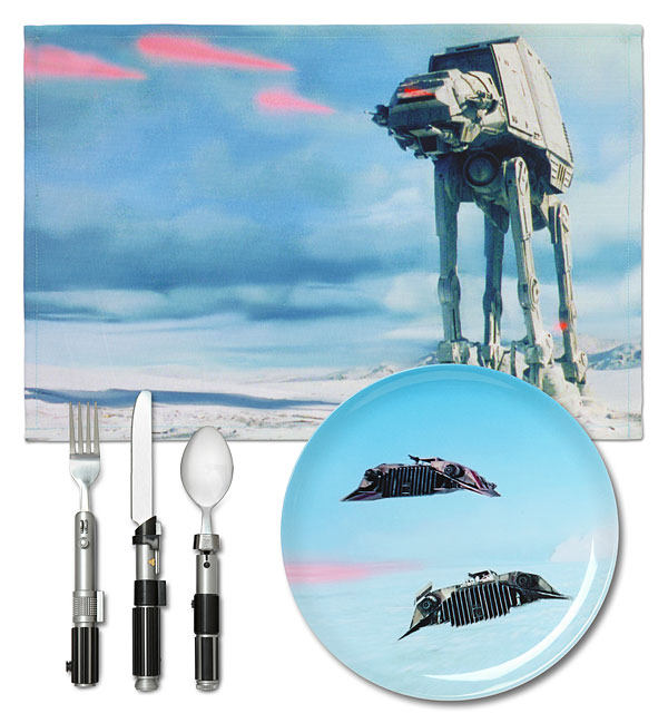 Star Wars Hoth Dinner Set